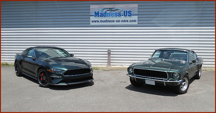 Importateur Ford Mustang