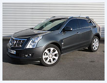 Cadillac SRX-4 Luxury 2012