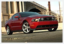 Nouvelle Ford Mustang 2010